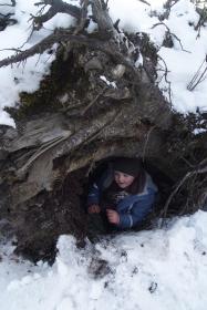 Dzieci proponowały różne rodzaje schronienia w sytuacjach ekstremalnych.